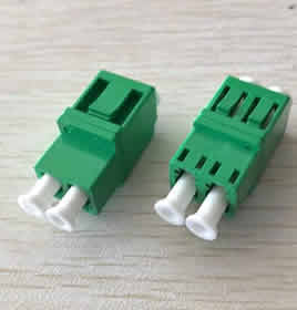 Duplex LC/APC Adaptor Low Profile